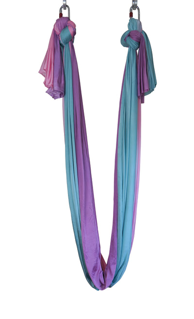 Rainbow Ombre Aerial Yoga Hammock Uplift Active Full View