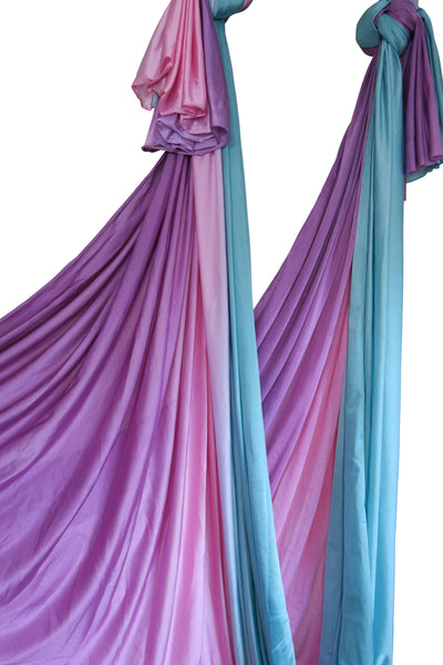 Purple Blue Ombre Yoga Hammock Fabric Only - Uplift Active