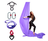 Light Purple Aerial Silks Set with Hardware Uplift Active