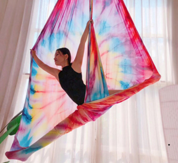 Printed Aerial Silks Set with All Hardware - Uplift Active