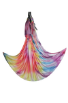 Uplift Active Extended Sizes Yoga Hammock + Rigging Equipment - Rainbow Tie Dye