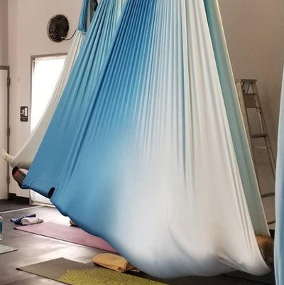 Ombre Studio Pack of Yoga Hammocks + Rigging Equipment Uplift Active
