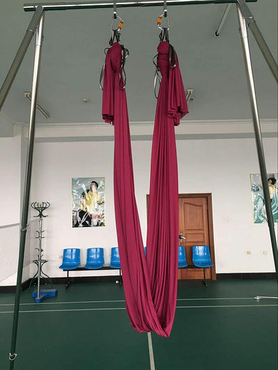Pink Hammock Height Adjustable Portable Aerial Rig - Uplift Active
