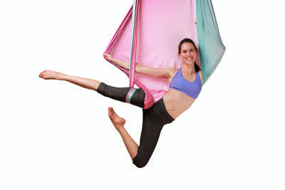 Uplift Active Purple Blue Ombre Yoga hammock