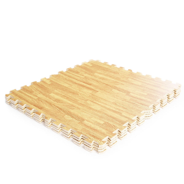 Wood Floor Padding Wood Foam Floor: Wood Look EVA Foam Floor Interlocking Mat Show Floor Gym