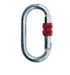 Red Screw Lock Carabiner