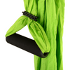 Green Yoga Swing with Handles Details- Aerial Yoga Gear - Uplift Active