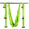 Green Yoga Swing with Handles - Aerial Yoga Gear - Uplift Active