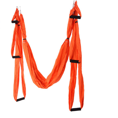 Orange Yoga Swing with Handles - Aerial Yoga Gear  - Uplift Active