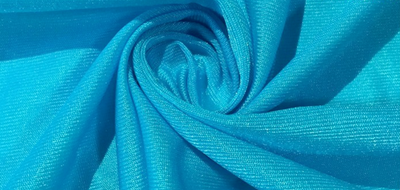 Blue Tricot Yoga Hammock Fabric - Uplift Active