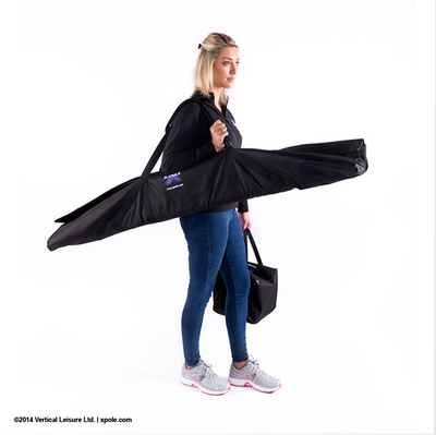 Aerial Yoga X-Pole A-Frame Swing Stand inside the bag - Aerial Yoga Gear by Uplift Active