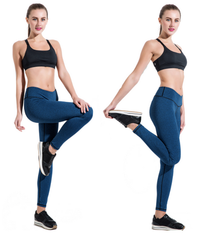 Power-Up Ankle Length Legging - Aerial Yoga Gear