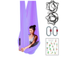 Wholesale Studio Pack of Purple Yoga Hammocks + Rigging Equipment - Uplift Active