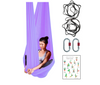 Lavander Aerial Yoga Hammock Set with Rigging Equipment - Aerial Yoga Gear Uplift Active