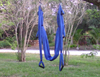 Blue Mix Yoga Swing with Handles - Aerial Yoga Gear - Uplift Active