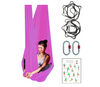 Hot Pink Aerial Yoga Hammock Set with Rigging Equipment - Aerial Yoga Gear Uplift Active