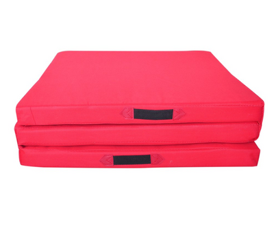 Folding Three Panel Gymnastics Mat - Aerial Yoga Gear - Uplift Active