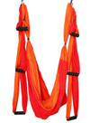 Red Mix Yoga Swing with Handles - Aerial Yoga Gear  - Uplift Active