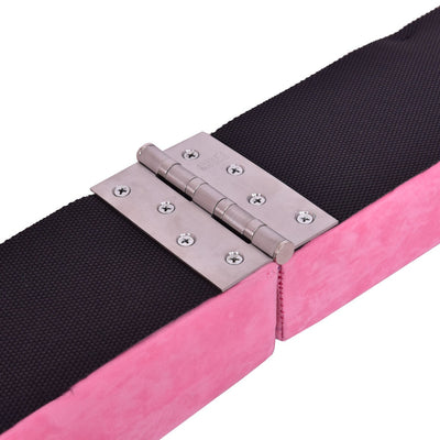 Pink Sectional Gymnastics Floor Balance Beam Detail- Uplift Active