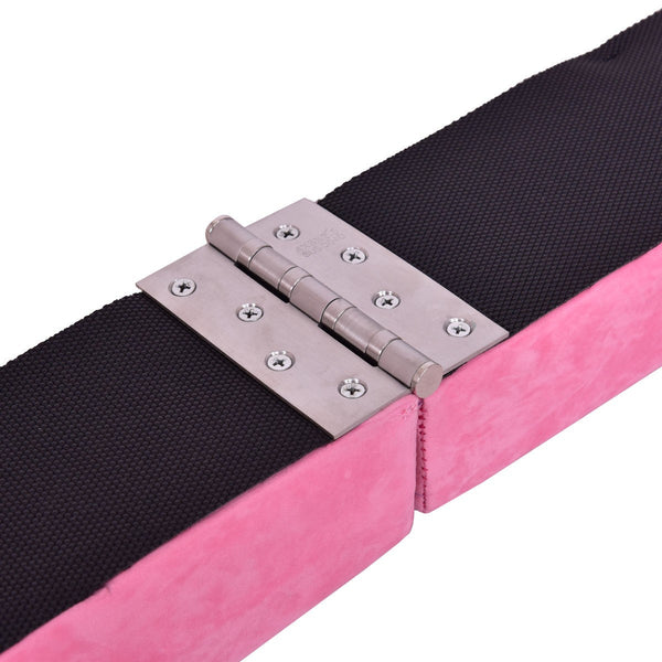Pink Sectional Gymnastics Floor Balance Beam Detail