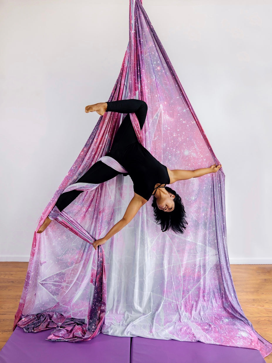 Printed Aerial Silks Set with All Hardware