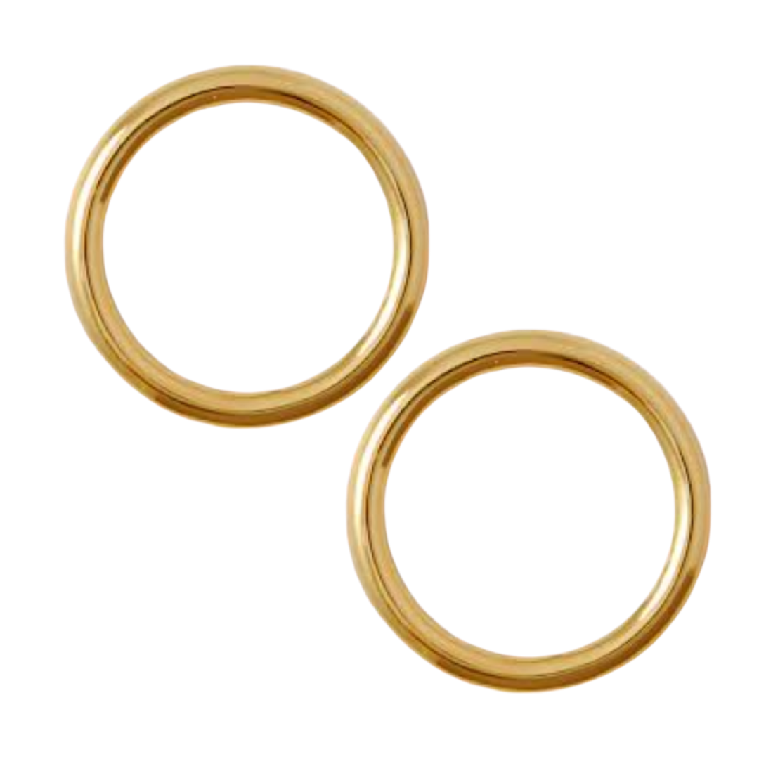 Brass Gold O-Rings