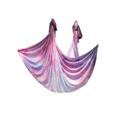 Uplift Active Ombre Aerial Silks Set with All Hardware - Galaxy