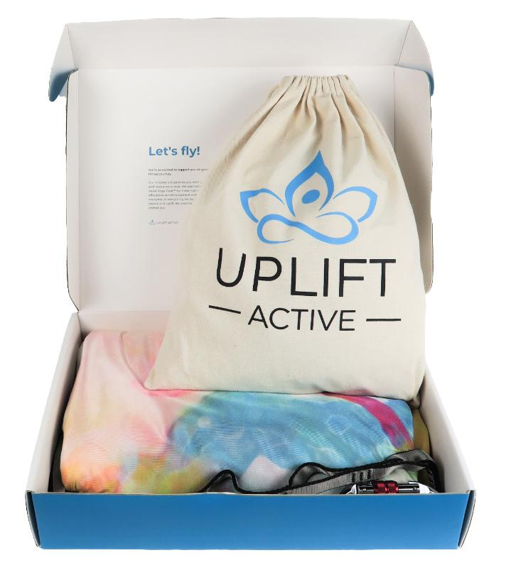 Printed Yoga Hammock + Rigging Equipment - Uplift Active