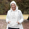 White We Rise by Lifting Other Aerial Silks Hoodie - Uplift Active
