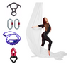 White Aerial Silks Set with Hardware Uplift Active