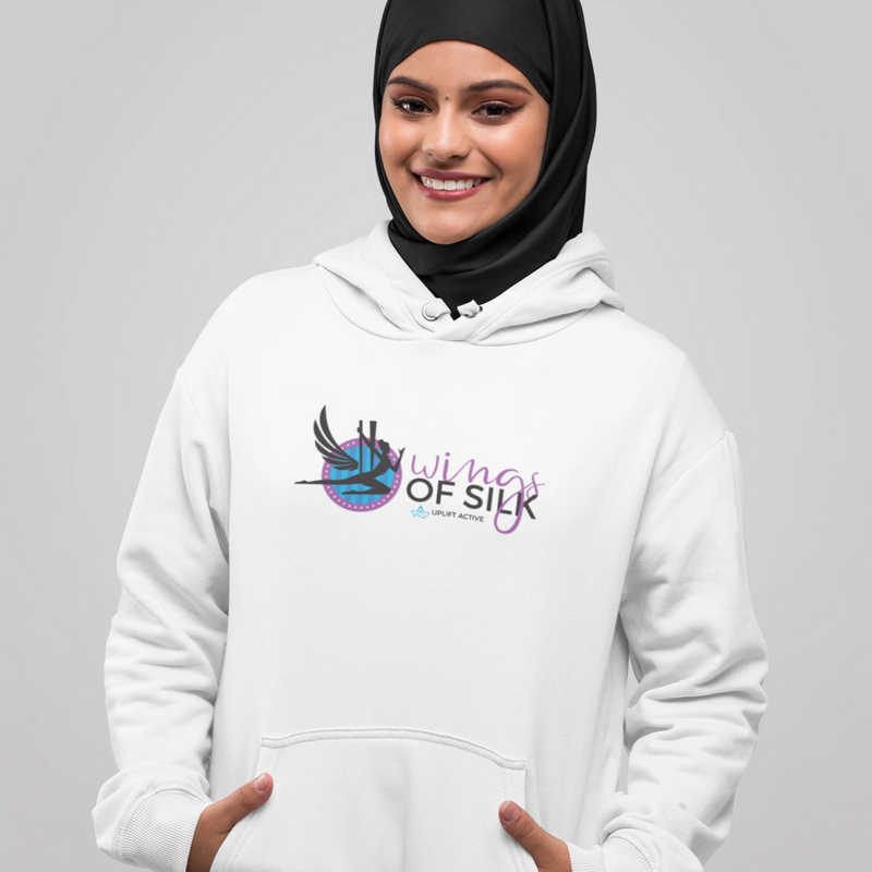 Wings Of Silk Hoodie Pullover - Uplift Active