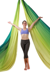Yellow Green Ombre Aerial Silks