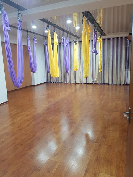 aerial yoga studio inside