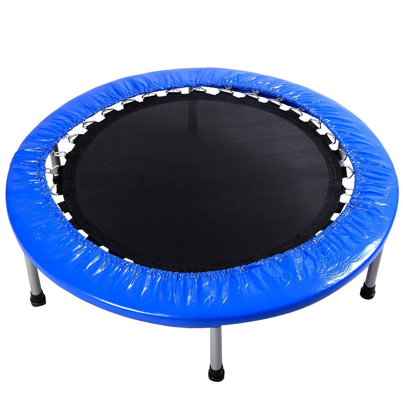 "Foldable 38"" Rebounder Trampoline with Carrying Bag - Uplift Active"