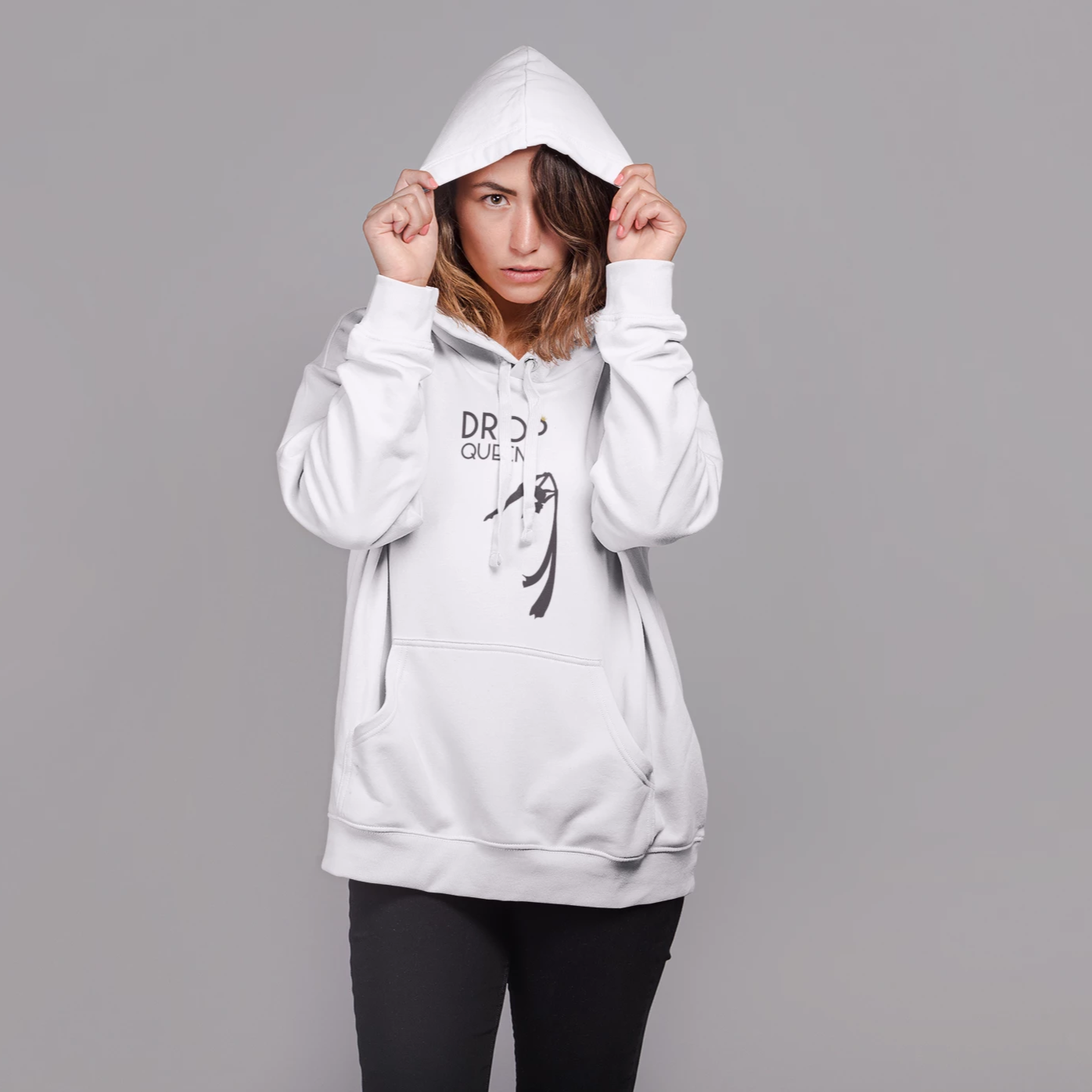 Drop Queen Hoodie Pullover - Uplift Active
