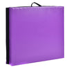 Easy Storage Purple Folding Two Panel Gymnastics Mat - Aerial Yoga Gear  - Uplift Active