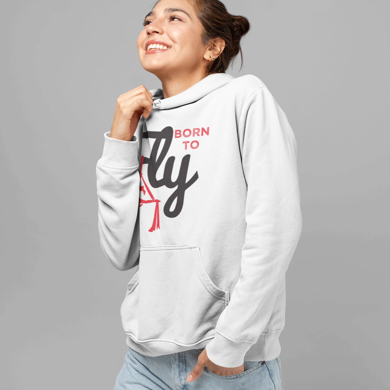 Born to Fly Hoodie Pullover - Uplift Active