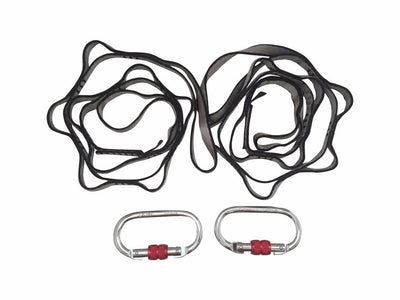 Daisy Chain and Carabiner Rigging Equipment - Aerial Yoga Gear Uplift Active