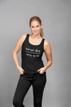 Namastay Upside Down Tank Top Aerial Yoga Gift top Uplift Active