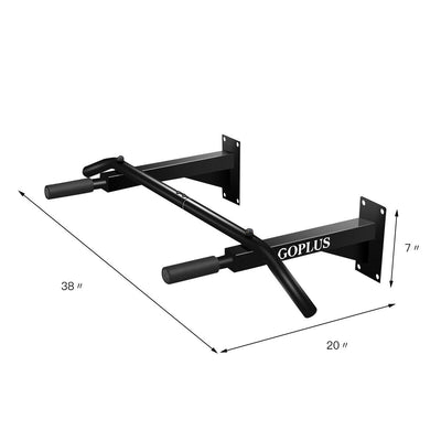 Wall Mounted Pull up and Chin up Bar Dimension- Uplift Active