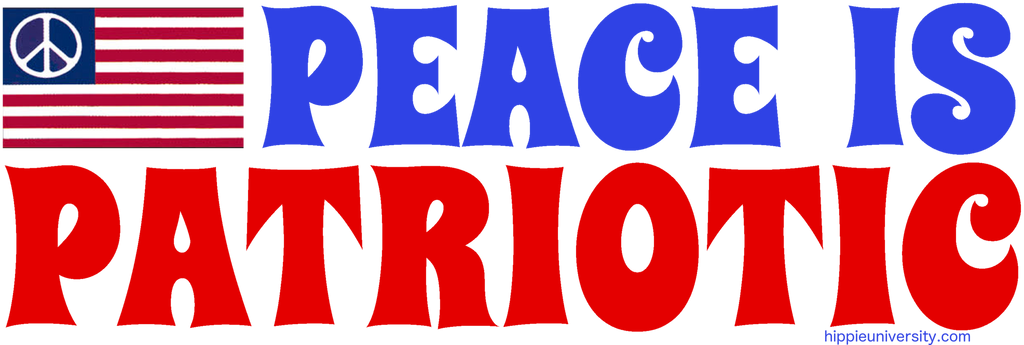 Peace is Patriotic