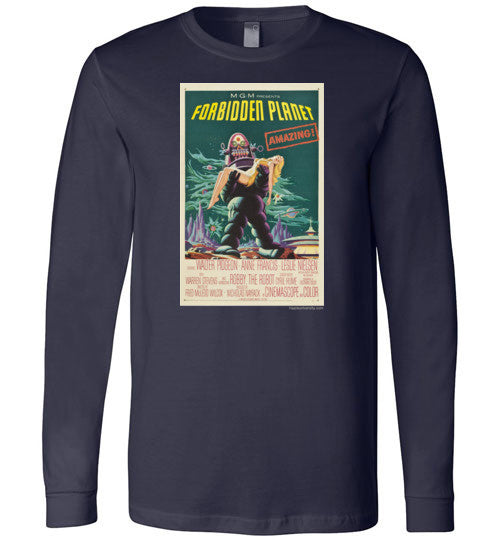 Forbidden Planet Long Sleeve T-Shirts
