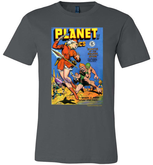 Planet Comics 55 Premium Made in USA T-Shirt