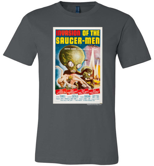 Invasion of the Saucer Men Made In USA Premium T-Shirt
