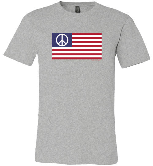 American Peace Flag Made In USA Premium T-Shirt