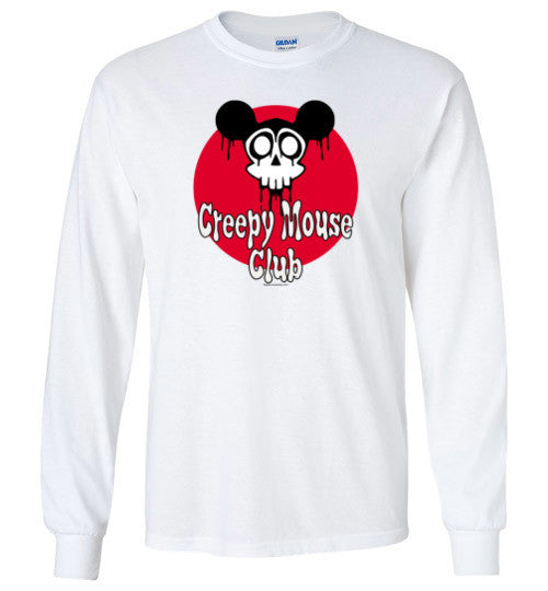 Creepy Mouse Club Long Sleeve T-Shirt