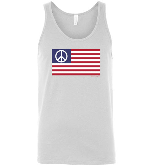 American Peace Flag Tank Top