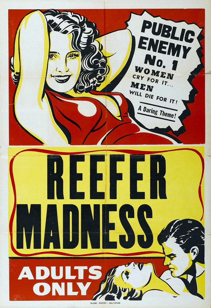 "Reefer Madness Movie Poster 24"" x 36"""