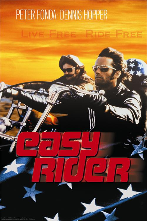 "Easy Rider 24"" x 36"" Movie Poster"