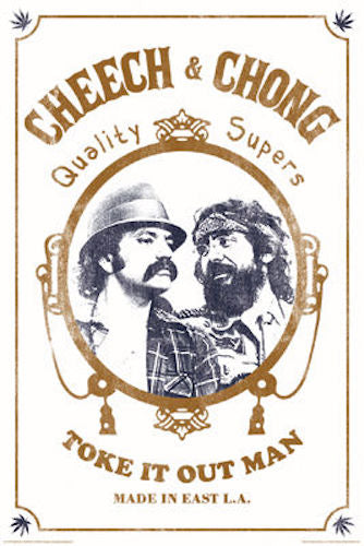 "Cheech and Chong 24"" x 36"" Poster"